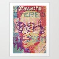Dynamite Stereo Soul Exp… Art Print