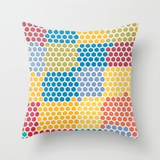boxed in Throw Pillow
