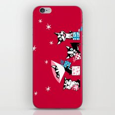 Bostie Holidays iPhone & iPod Skin