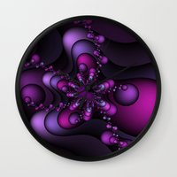 Bubble Wave Wall Clock
