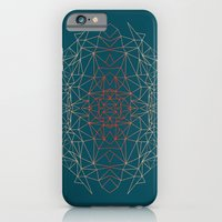 iPhone & iPod Case featuring GeoGradientTurquoise by AJJ ▲ Angela Jane Johnston