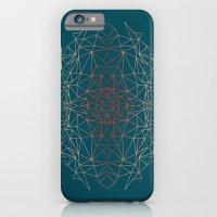 GeoGradientTurquoise iPhone 6 Slim Case