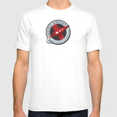 Rocket Surgery Mens Fitted Tee White SMALL