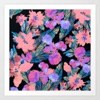 Night Blooms Art Print