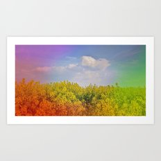 Magical spring Art Print