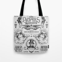 Legend of Zelda Bomb Advertisement Poster Tote Bag