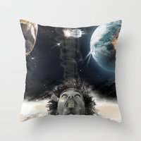 Star Gaze Throw Pillow