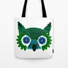 So Many Leaves = 1 Owl (Green) Tote Bag