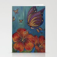 Butterfly Fairy Stationery Cards