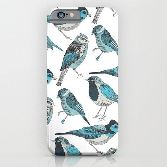pale green birds iPhone & iPod Case