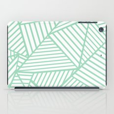 Abstract Lines Close Up Mint iPad Case