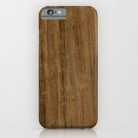 Etomie (Flat Cut) Wood iPhone 6 Slim Case
