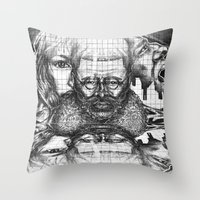Thick As Thieves Throw Pillow