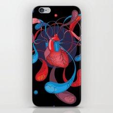The Bass Heart iPhone & iPod Skin