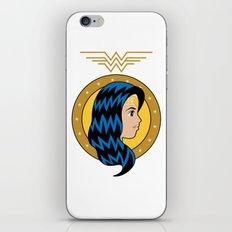 Amazonian Woman of Wonder iPhone & iPod Skin