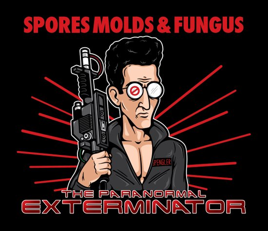 The Paranormal Exterminator Art Print