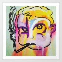 Never Trust A Smoking Ba… Art Print
