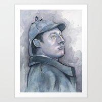 Data As Sherlock Holmes … Art Print