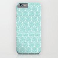 Icosahedron Seafoam iPhone 6 Slim Case