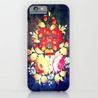 iPhone & iPod Case featuring Vector Flowers V - for iphone by Simone Morana Cyla