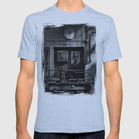 Old Factory 1 Mens Fitted Tee Athletic Blue SMALL