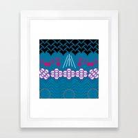 HARMONY pattern Alt 1 Framed Art Print
