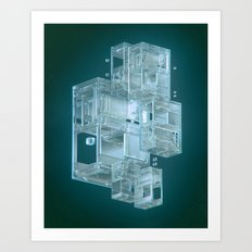 FROST.IE 1969 (everyday 11.30.15) Art Print