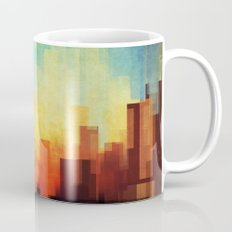 Urban sunset Mug