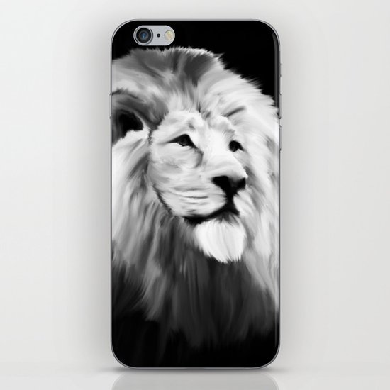 Leo king iPhone & iPod Skin