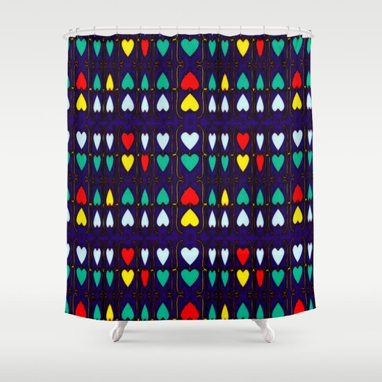 Heart Hugs Shower Curtain