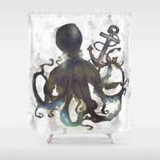 OCT0 Shower Curtain
