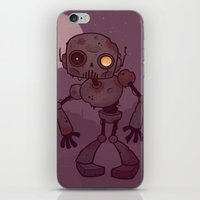 Rusty Zombie Robot iPhone & iPod Skin