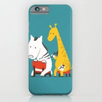 zebra iPhone & iPod Cases featuring Zebra Tattoo by Picomodi