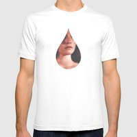 Tear for Apathy  Mens Fitted Tee White SMALL
