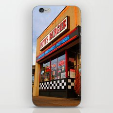 Patty's diner iPhone & iPod Skin