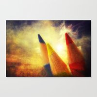 The World Needs Colors Canvas Print