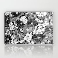 Floral Black Laptop & iPad Skin