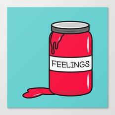 Feelings in a Jar Canvas Print
