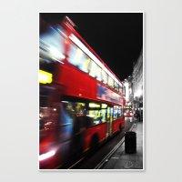 double decker Canvas Print