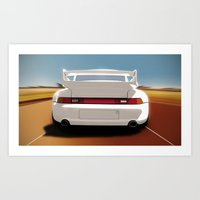 Driving Pleasure Art Print