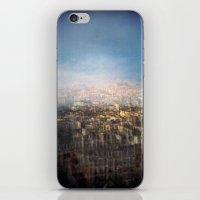 Paris Multiple Exposure  iPhone & iPod Skin