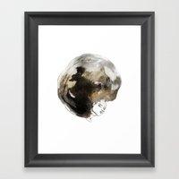Void Framed Art Print