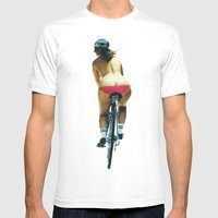 Fat Bottomed Girls Mens Fitted Tee White SMALL