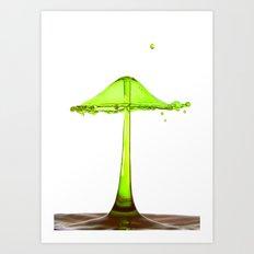 Water mushroom Art Print