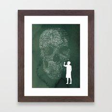 Equation Framed Art Print