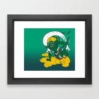 Fūjin Framed Art Print