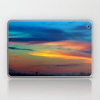 Sunset in Caleidoscope Laptop & iPad Skin