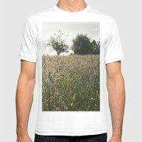 Paisaje Mens Fitted Tee White SMALL