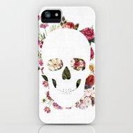 Skull Grunge Flower 2 iPhone (5, 5s) Slim Case