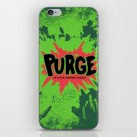 purge iPhone & iPod Skin